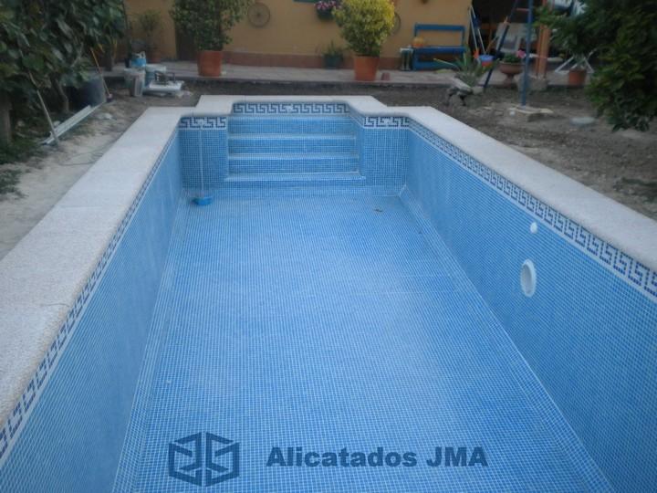 Alicatados jma galer a de fotos for Solados para piscinas